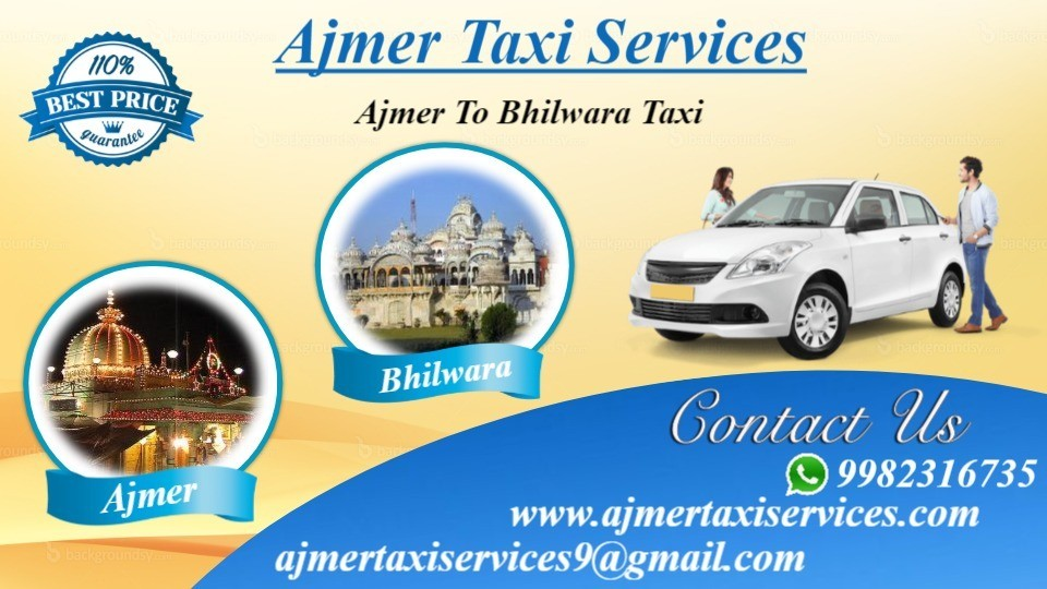 Ajmer to Bhilwara taxi