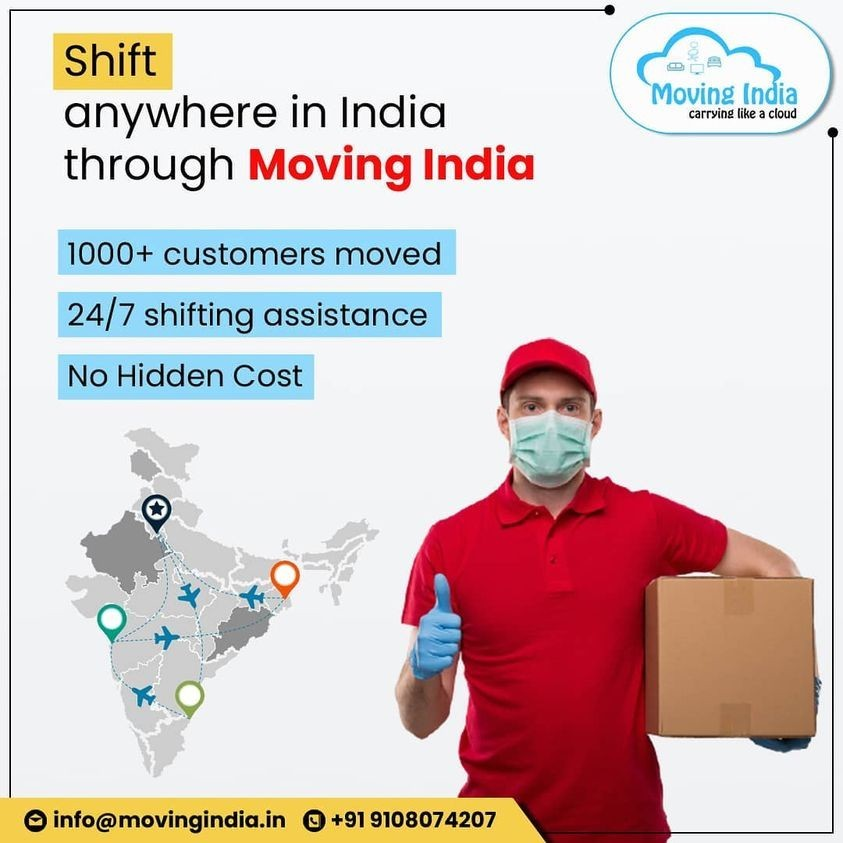 Shift anywhere in India through Moving India