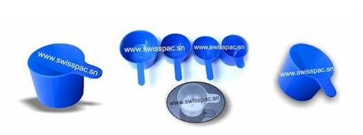 Cuilleres Doseuses (Plastic scoops)
