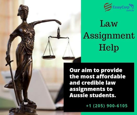 Professional Law Assignment Help by EssayCorp Experts