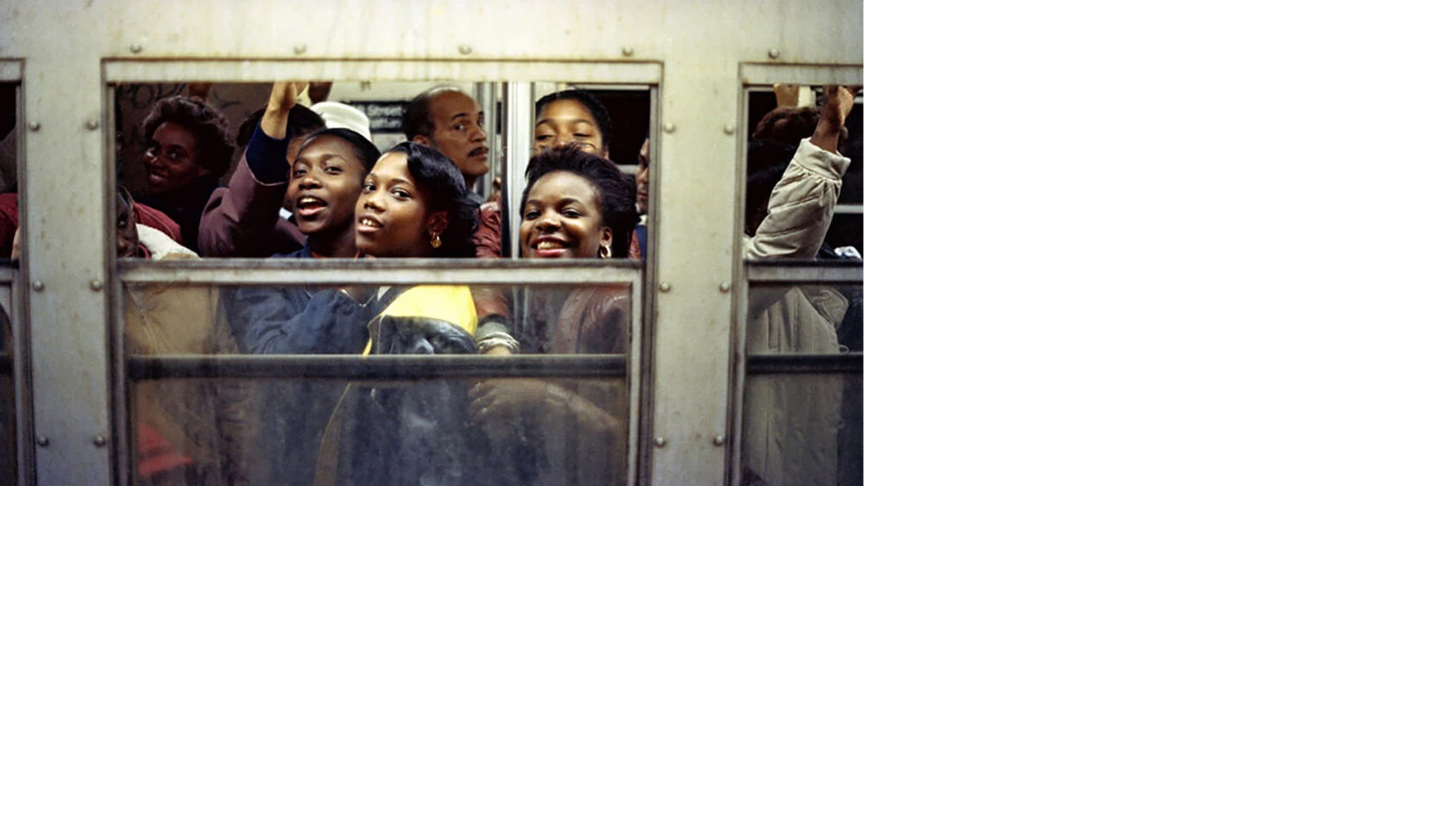 Photographer Jamel Shabazz's radiant love letter to the New York City subway.