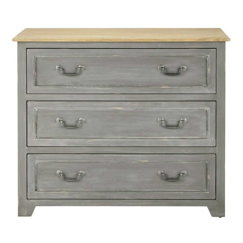 sulmi chest of drawer 6 (grey color)