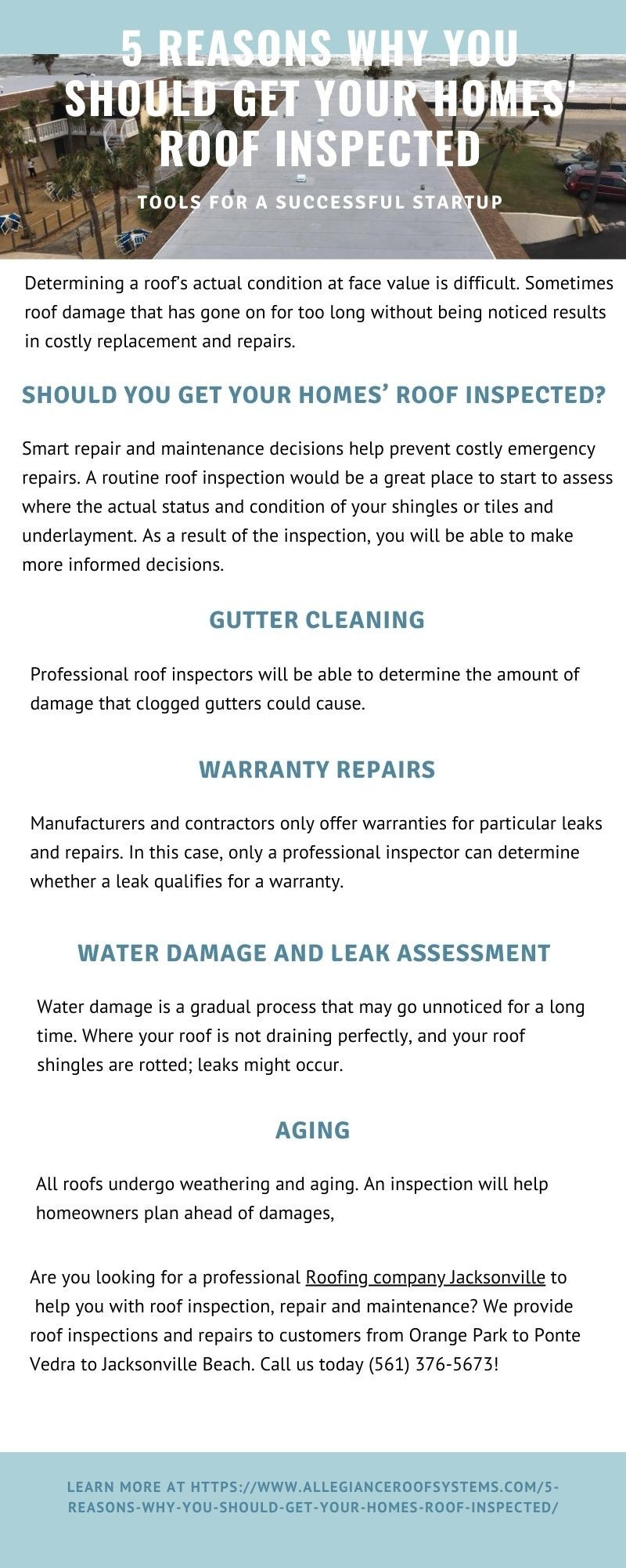 5 Reasons Why You Should Get Your Homes' Roof Inspected