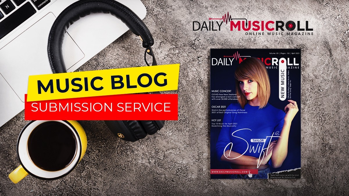 Music blog submission service