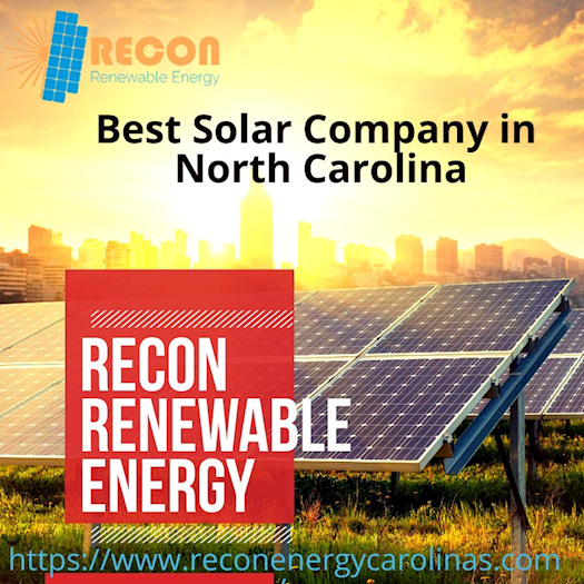 Best Solar Panels Company in North Carolina