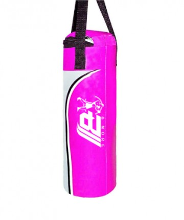Pink punching Leather Bag