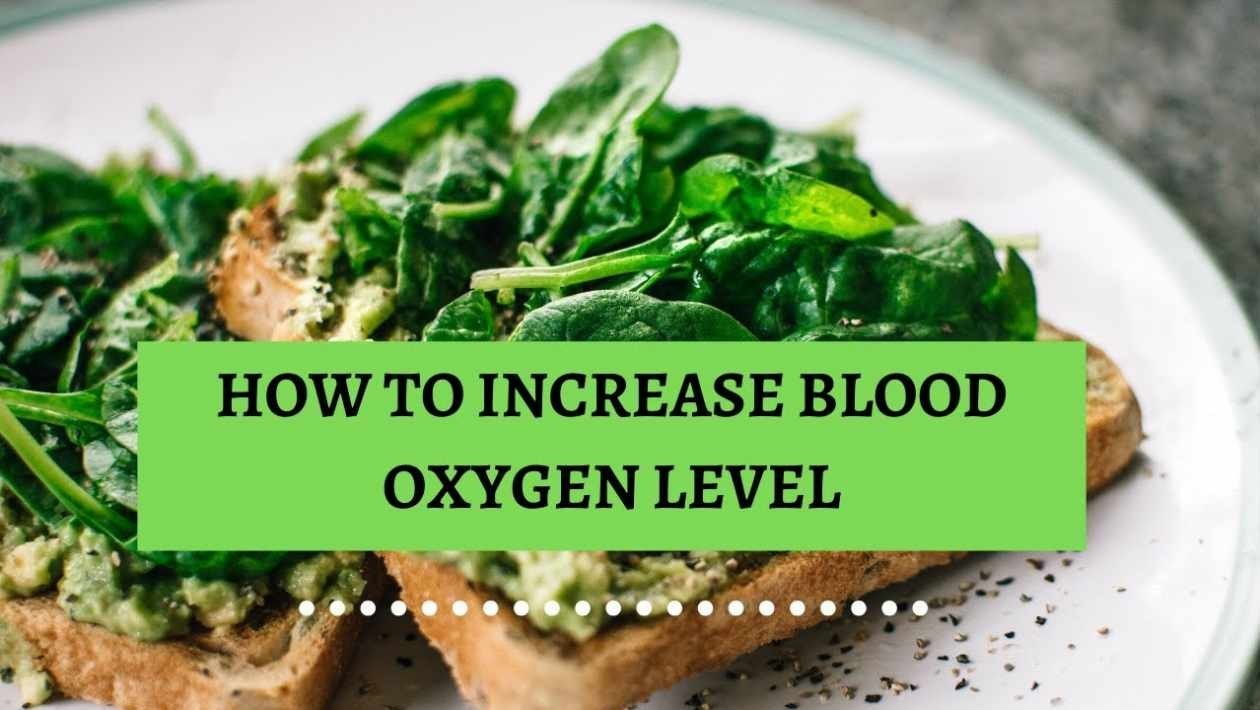 how to increase blood oxygen level
