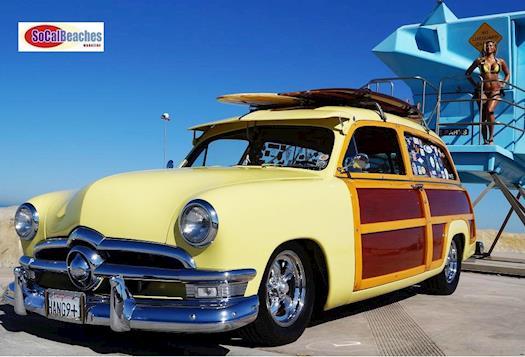 1950 Ford Woody Hot Rod Cardiff California