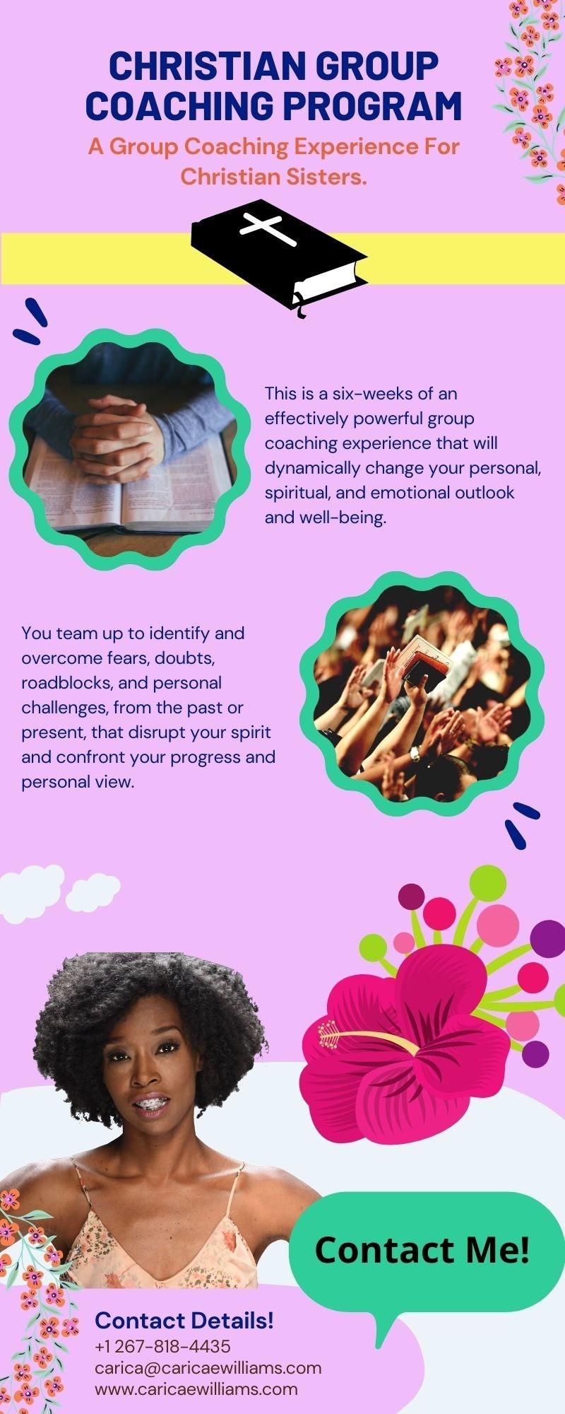 Christian Group Coaching Program | Carica E. Williams