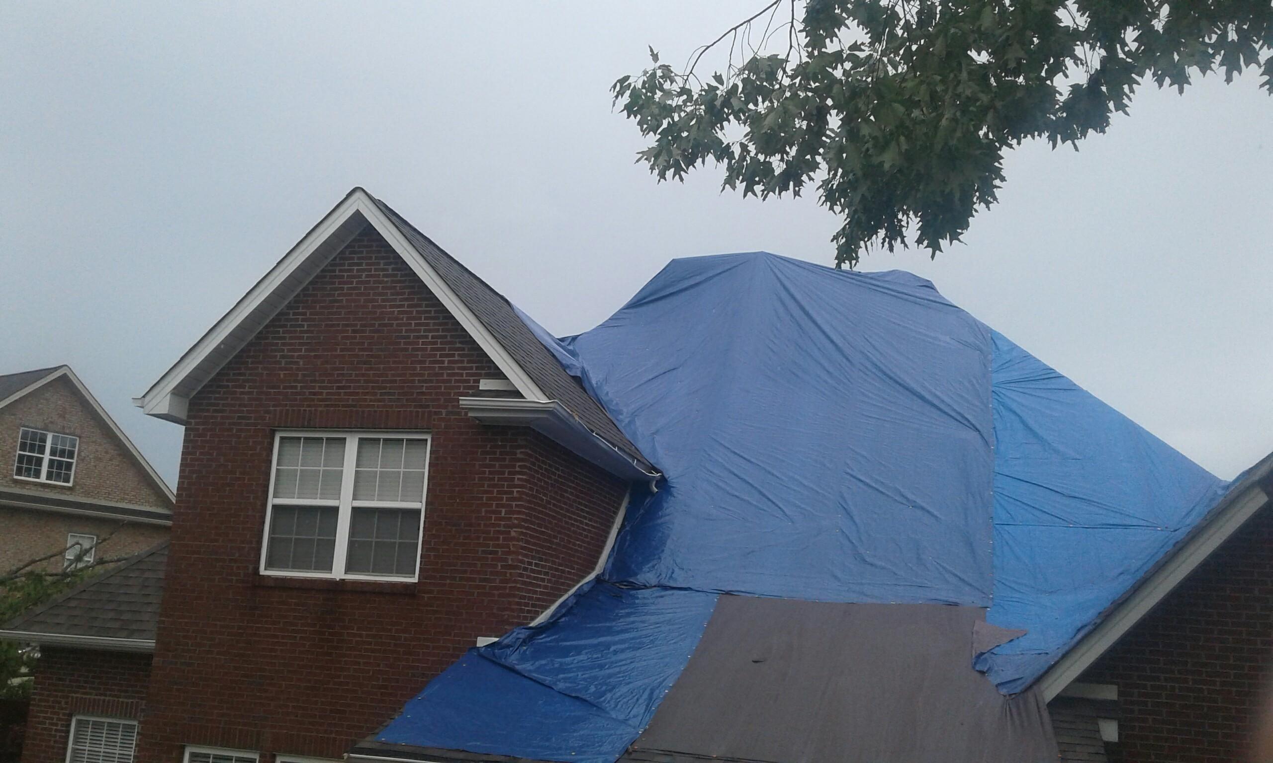 Storm damage Knoxville TN - Burell Built Exteriors & Roofing Company, LLC