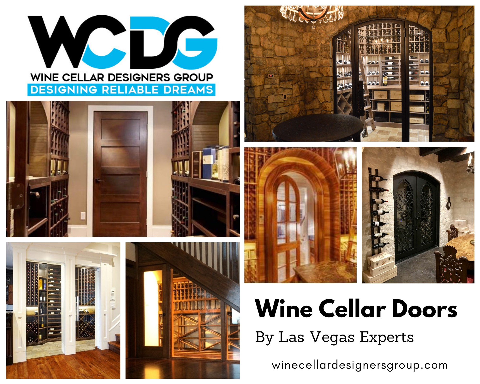 Custom Wine Celllar Doors by Las Vegas Experts