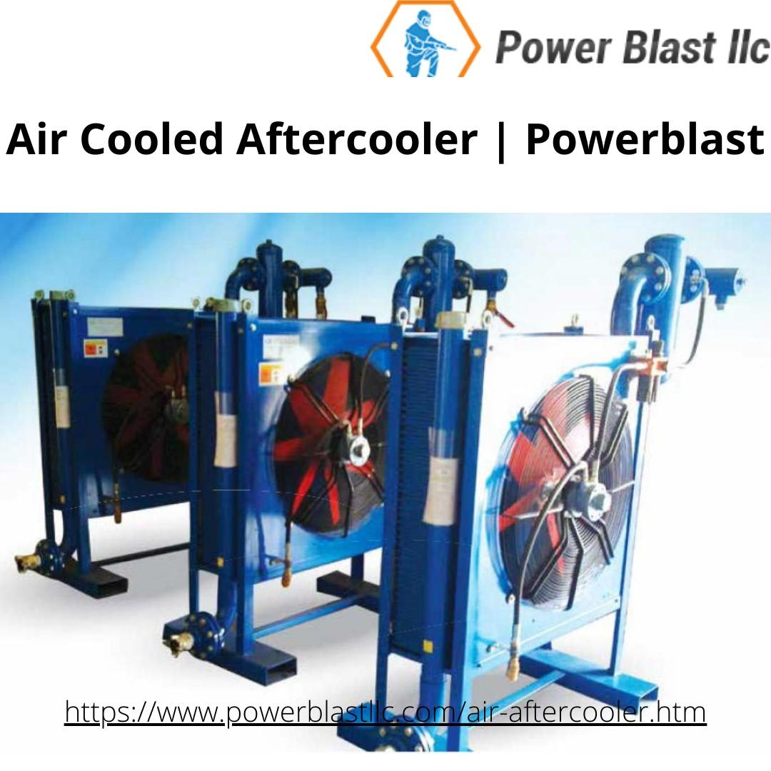 Air Cooled Aftercooler | Powerblast