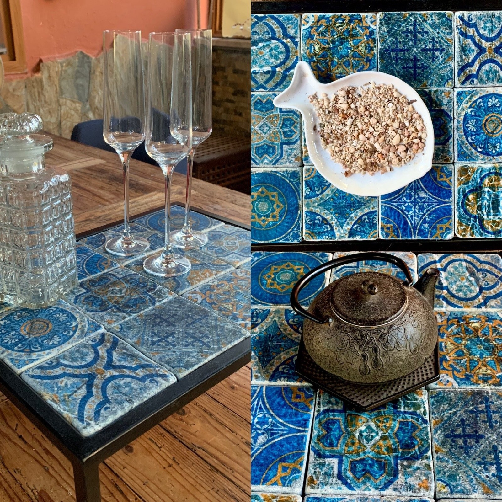 Buy Amazing Vintage Moroccan Style Serving Table Tray
