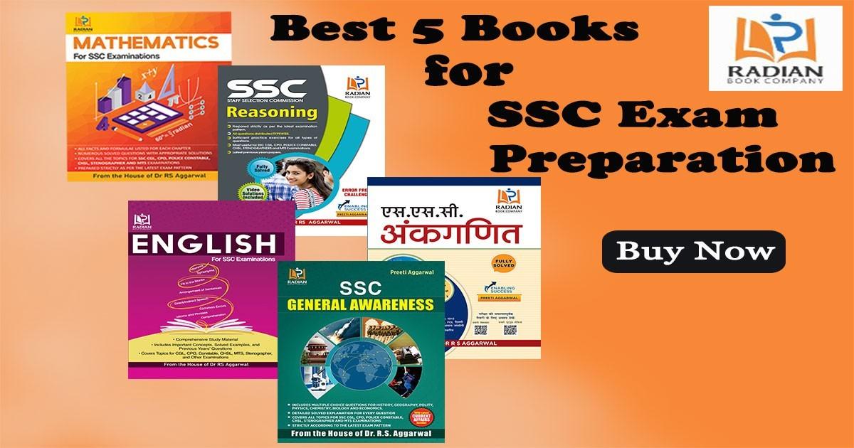 Best Books for SSC Exam Preparation