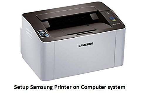 How do i install my samsung printer on my Macs?