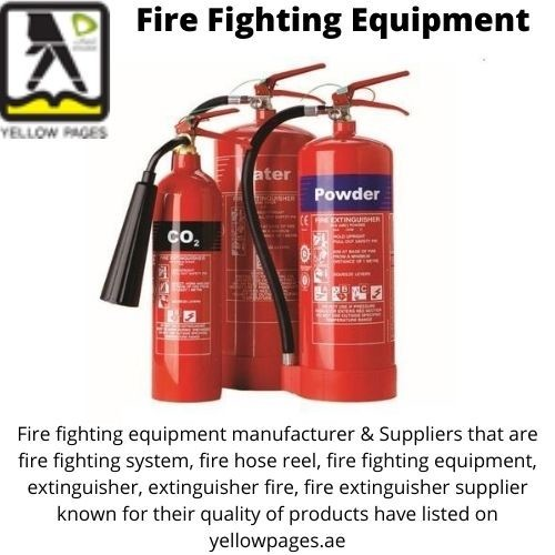 Best Quality of Fire Fighting system and Fire Extinguisher