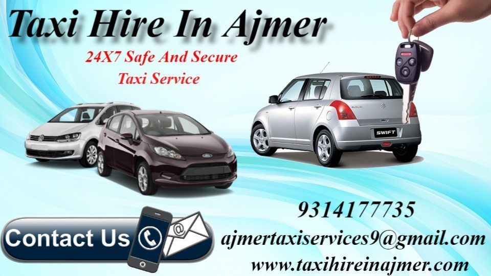 Taxi hire Ajmer , Car hire Ajmer ,  Taxi hire rates in Ajmer