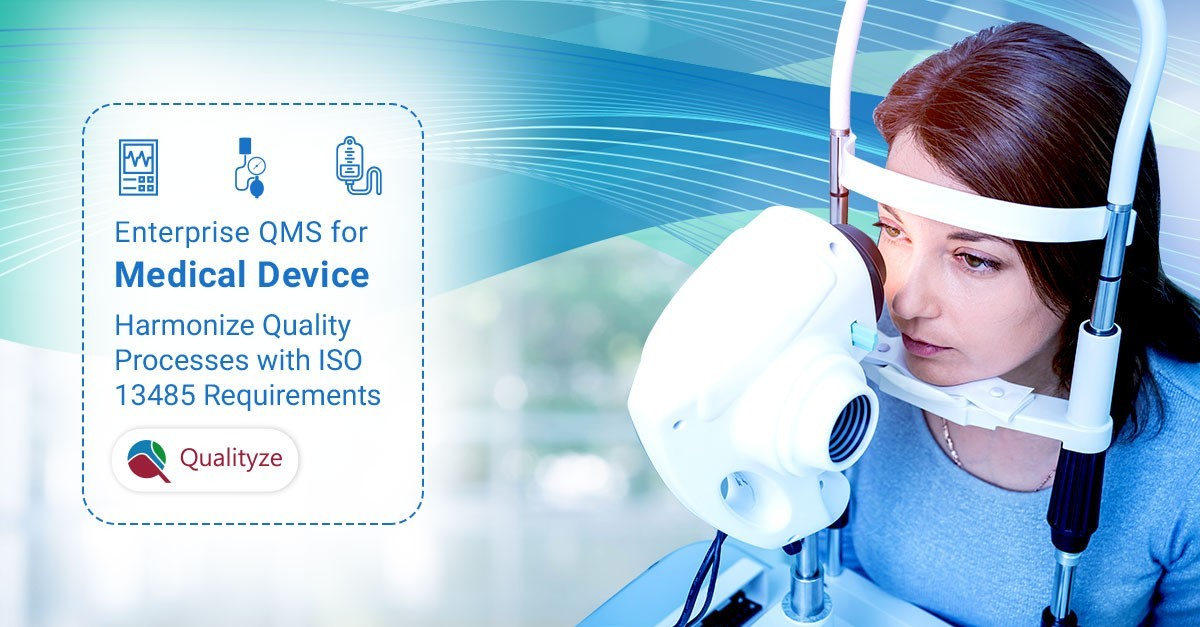Quality management software for medical devices