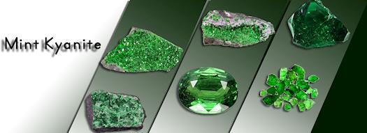 Mint Kyanite