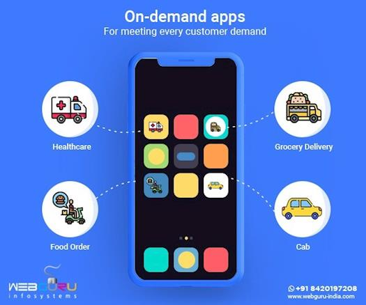 Fulfilling customer demand using on-demand apps