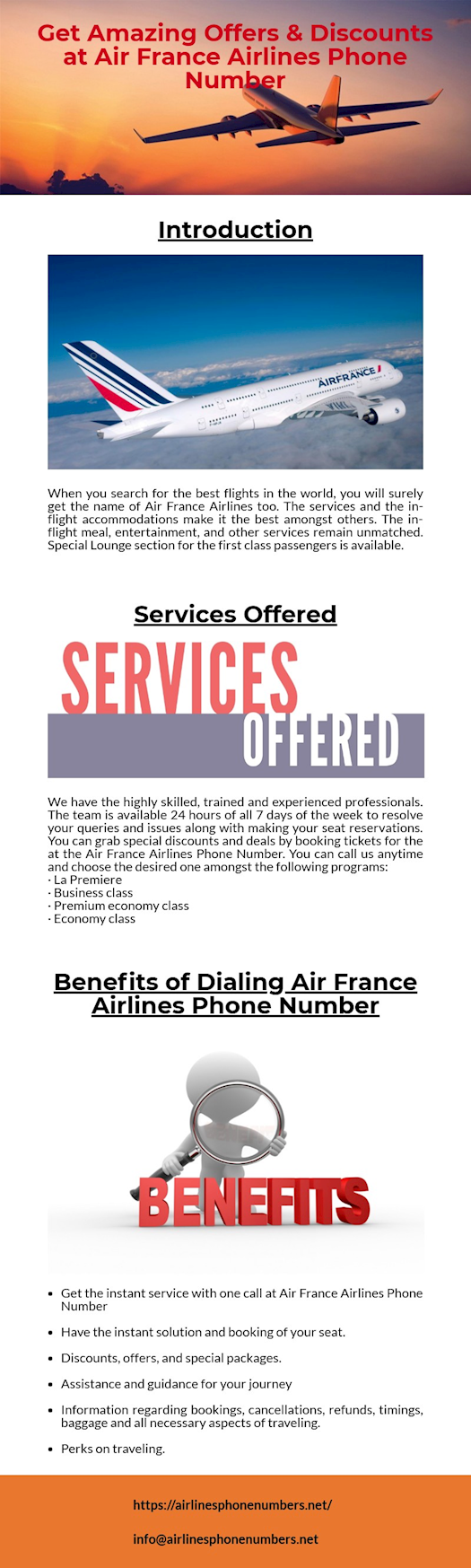 Get High Discounts on Tickets at Air France Airlines Phone Number