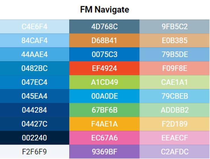 FM Navigate Colour Artboard_Colour Palette