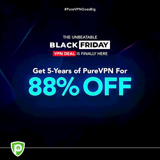 PureVPN: 5-Yr Subscription $79