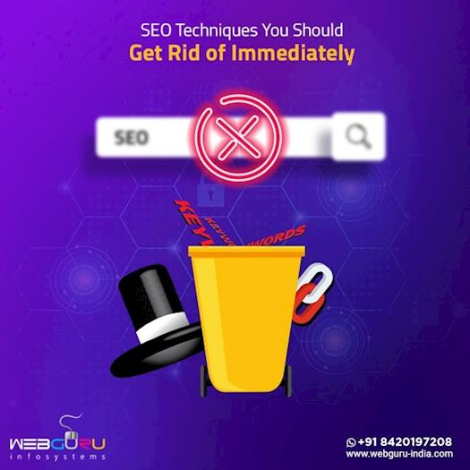 SEO Techniques You Should Get Rid Of Immediately