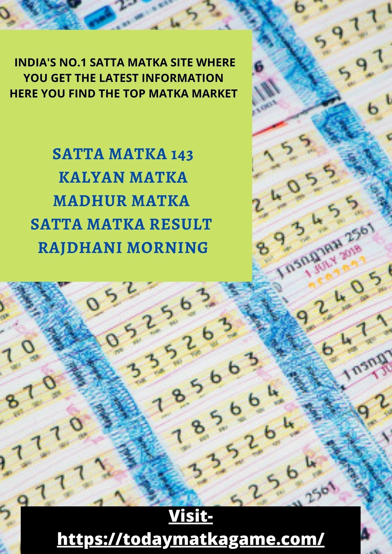 Wanna try your luck in satta matka ?