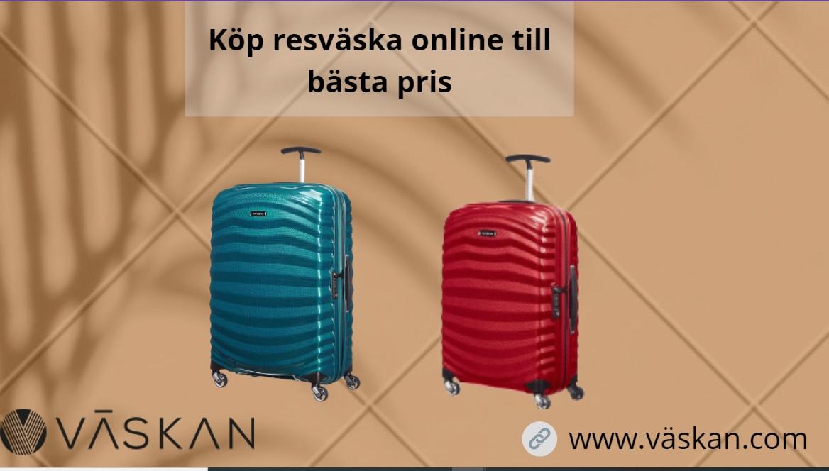 Köp resväska online till bästa pris