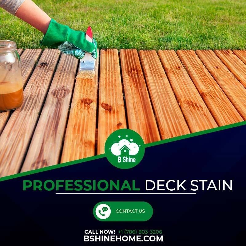professional deck stain