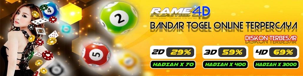 Rame4D Bandar Togel Online