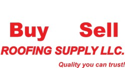 Buy & Sell Roofing Supply Logo