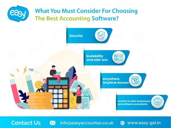 What You Must Consider For Choosing The Best Accounting Software