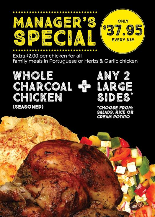 Manager's Special at Charco's