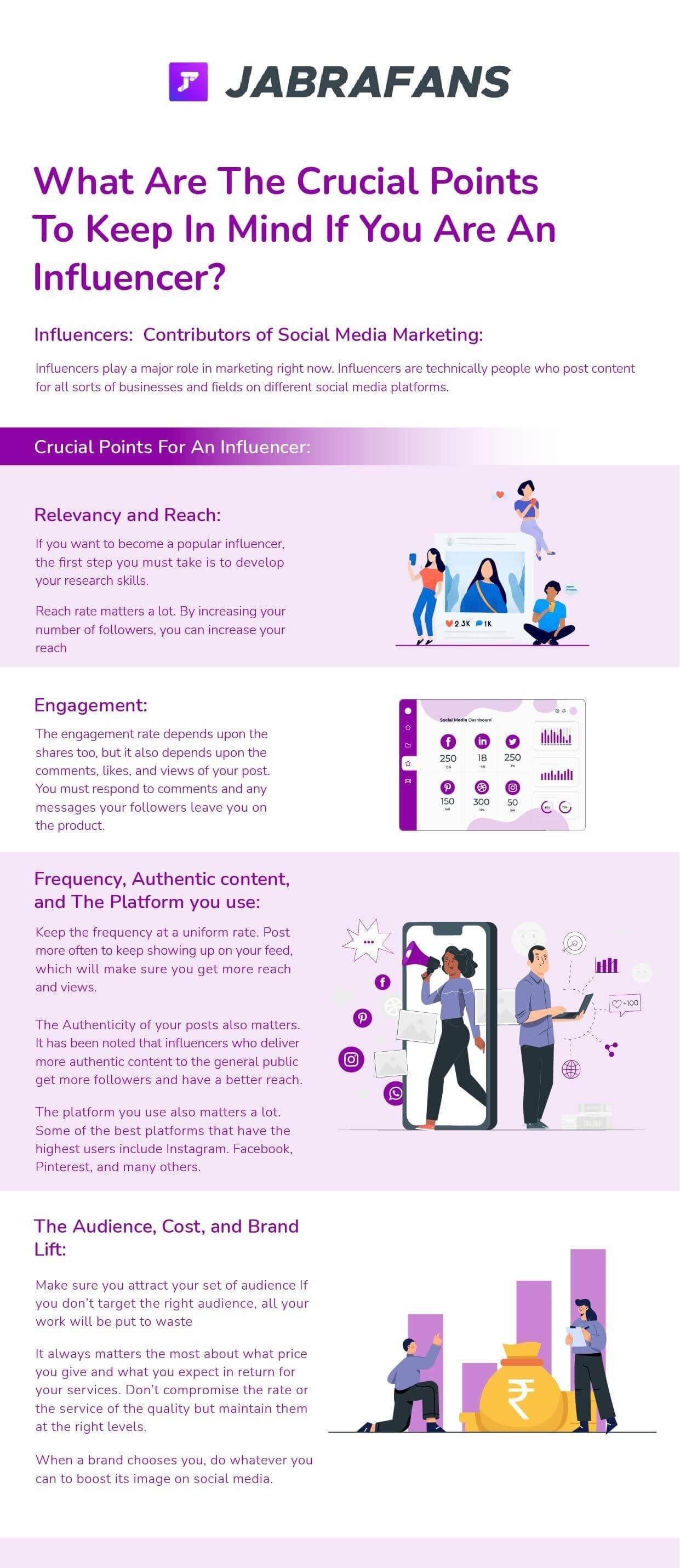 What Are The Crucial Points To Keep In Mind If You Are An Influencer?