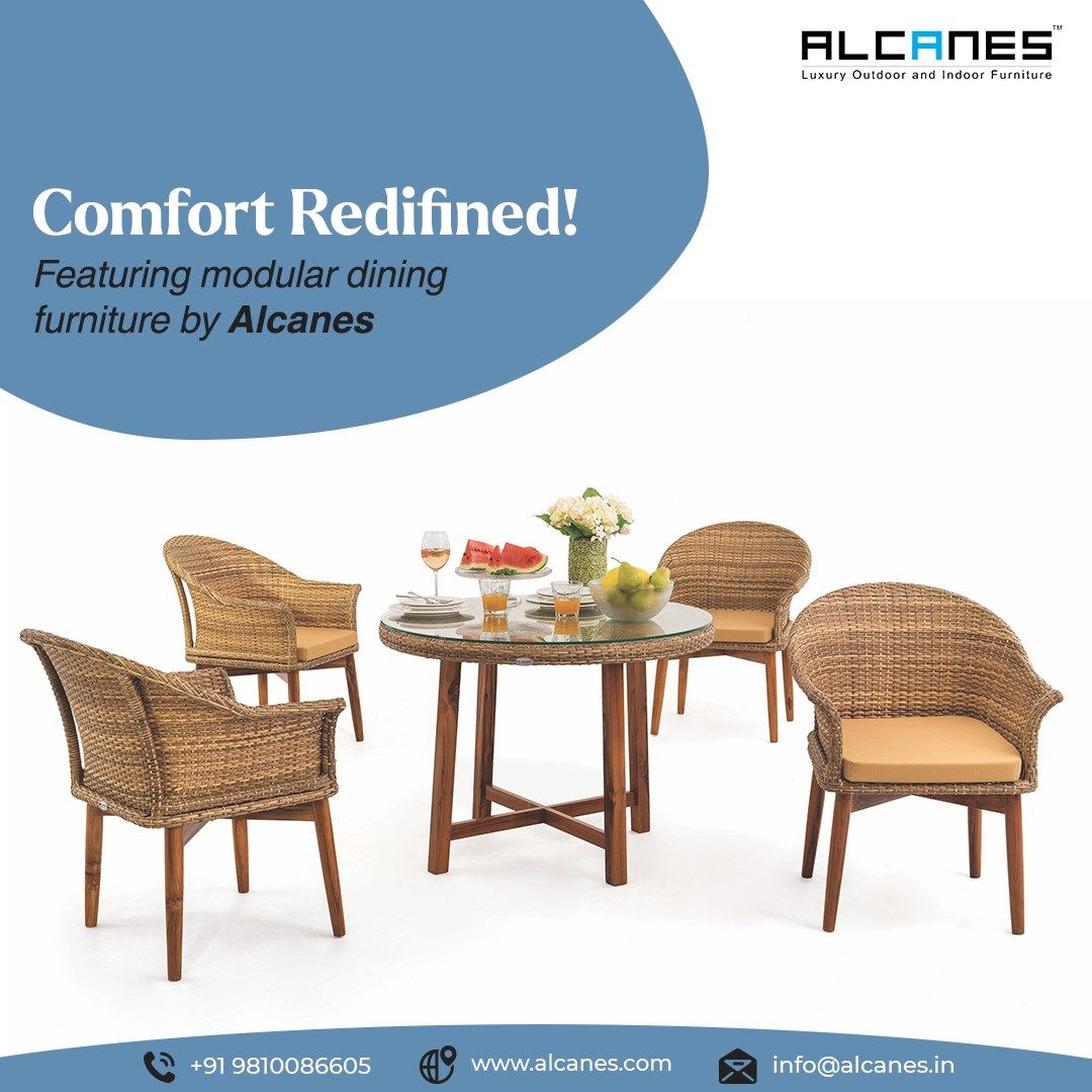 Featuring modular Dining Furniture  by Alcanes