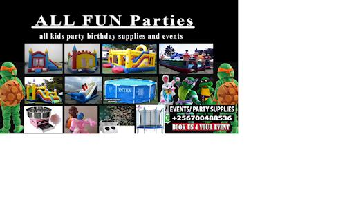 BOUNCING CASTLES FOR HIRE IN UGANDA AND MANY KIDS RENTAL PARTY SEPPLIES IN UGANDA