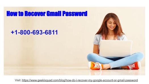 How Can I Recover my Gmail Password ?