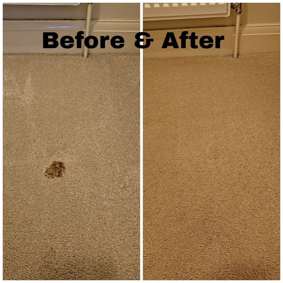 Carpet Cleaning Before and After Isle of Man