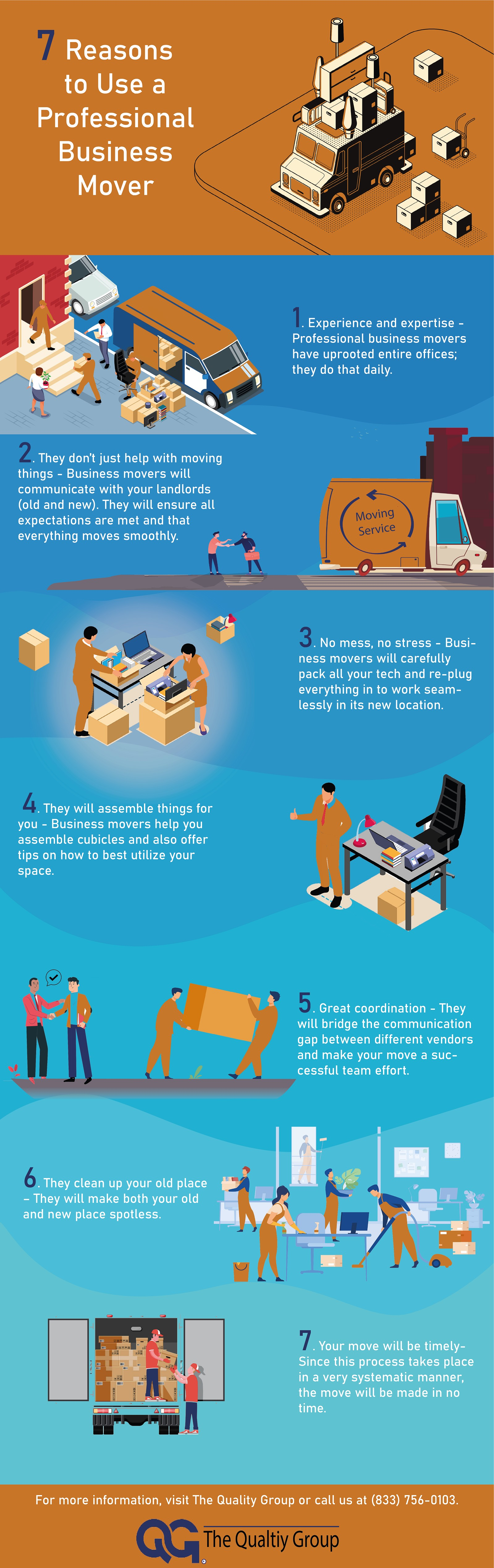 7 Reasons to Use a Professional Business Mover