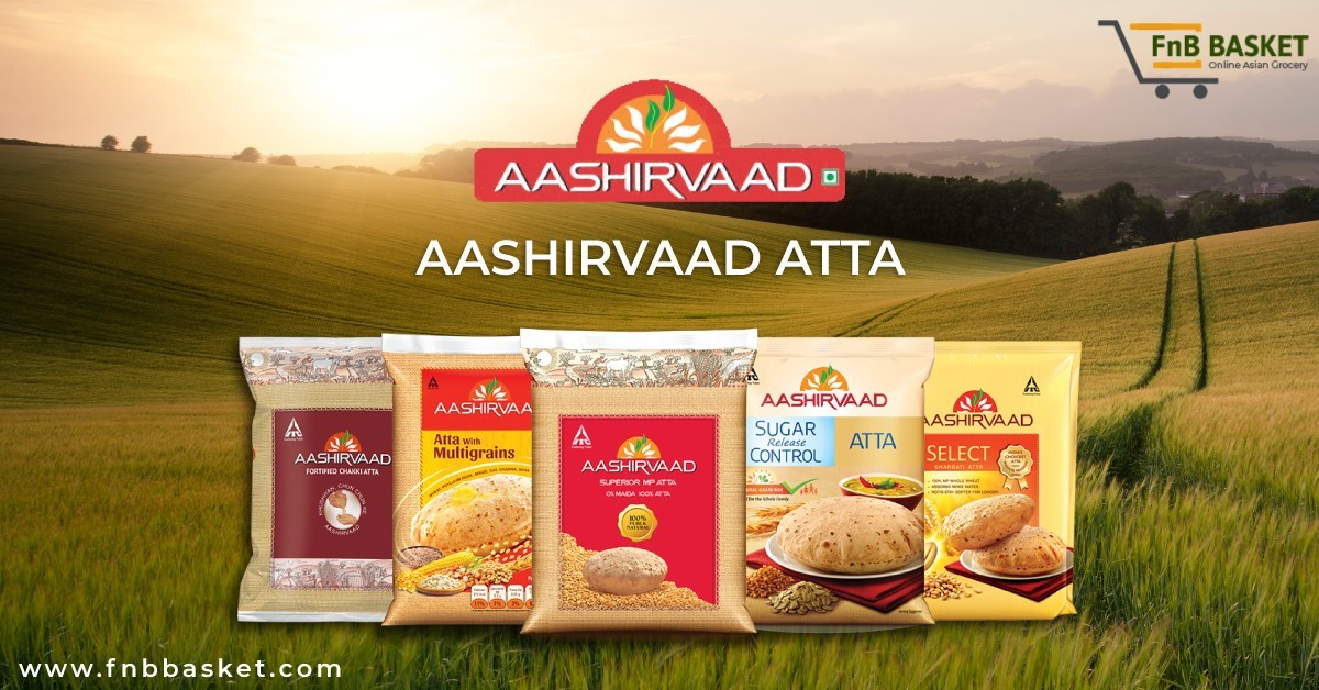 Buy AASHIRVAAD Whole Wheat Atta 5kg Online at Low Prices in Germany - fnbbasket.com