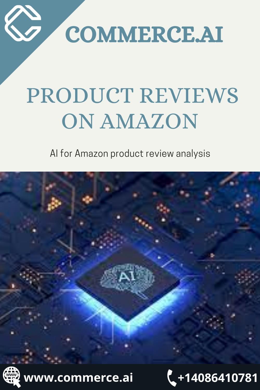 Analyze Product Reviews on Amazon | Commerce.AI