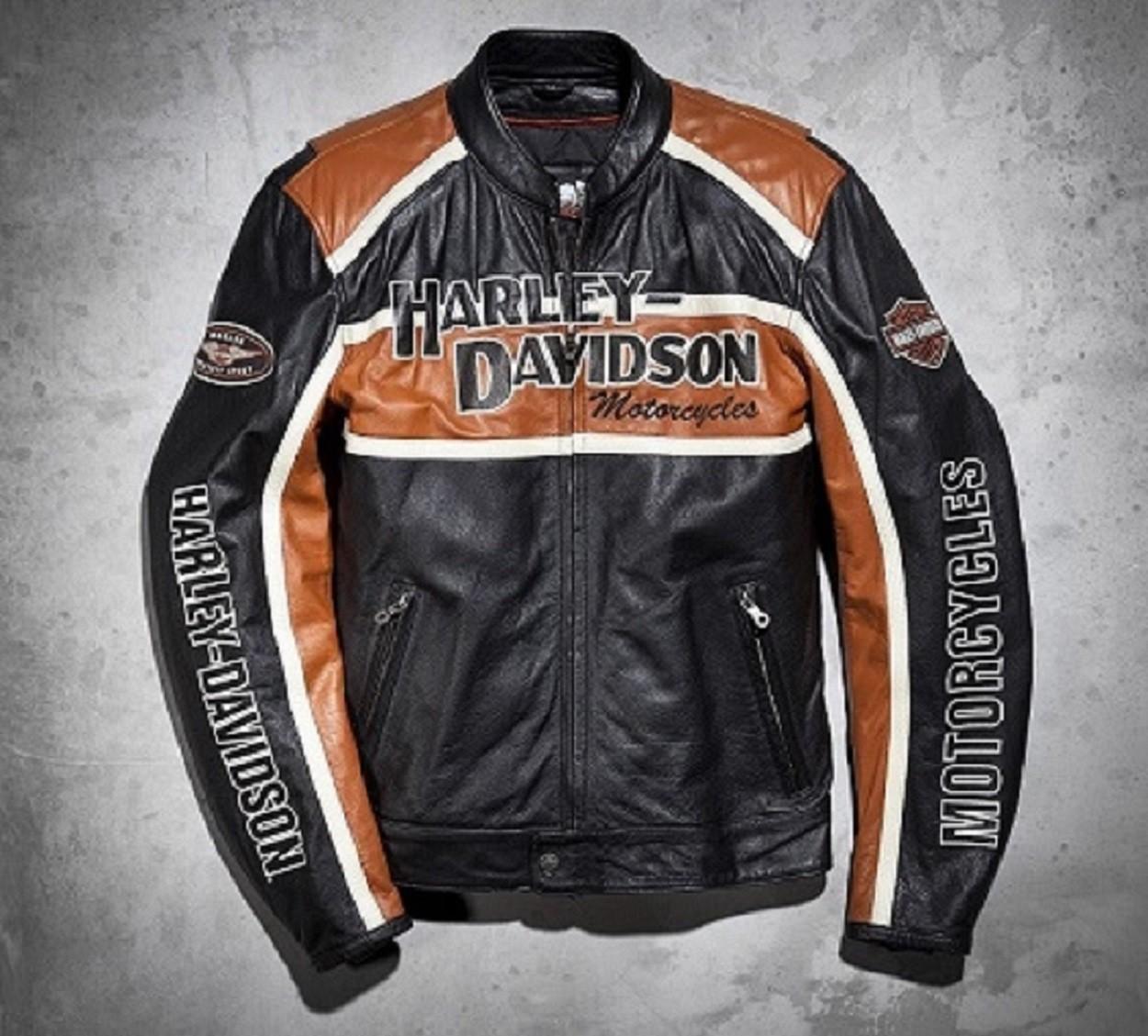 Harley Davidson Classic Cruiser 98118-08VM Leather Jacket