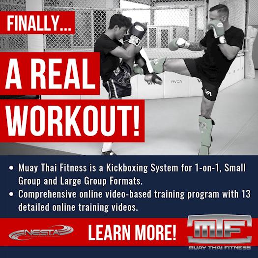 Muay Thai Coach Fitness Training Certification