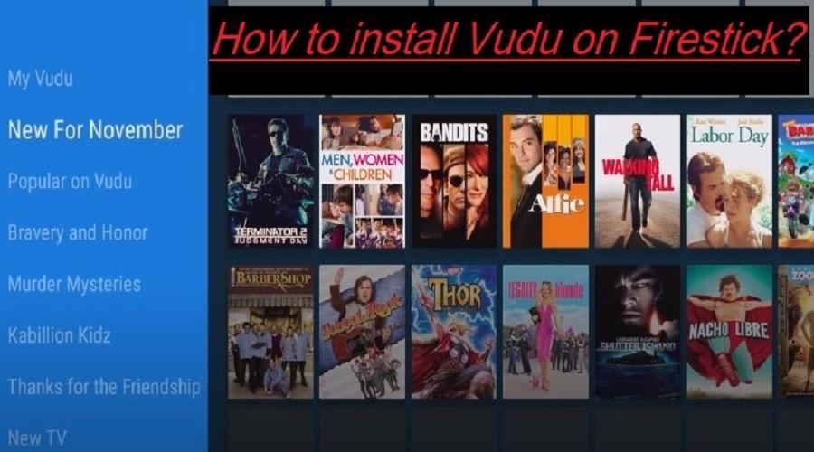 Install Vudu on Firestick