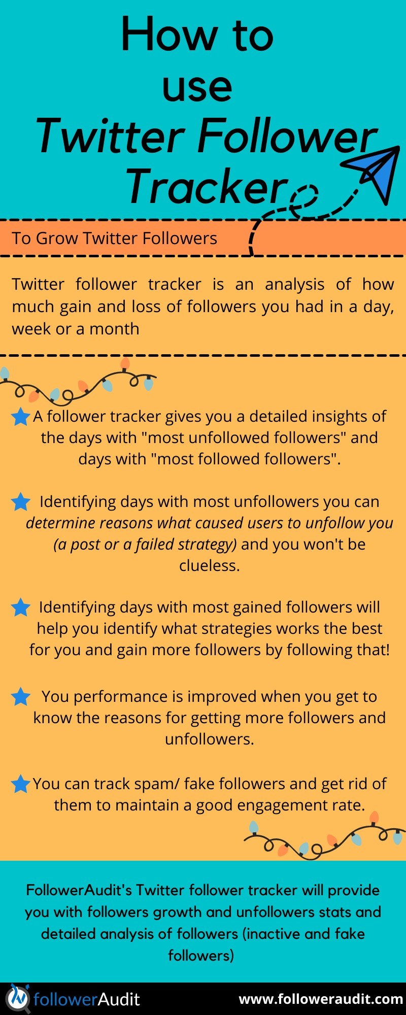 How to use Twitter Follower Tracker