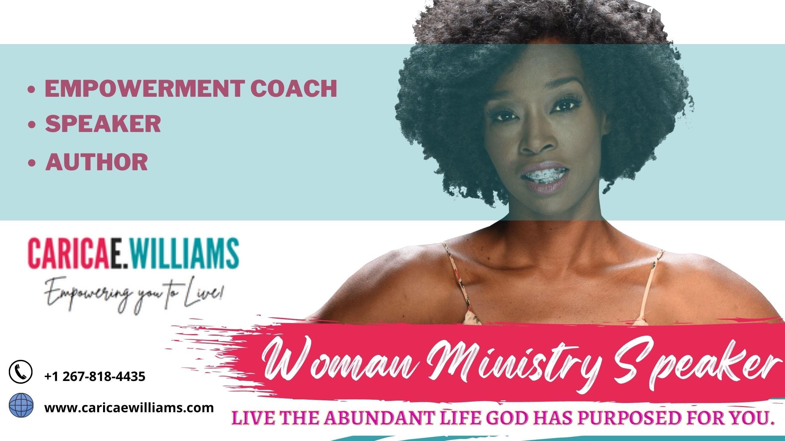 Woman Ministry Speaker - Carica E. Williams