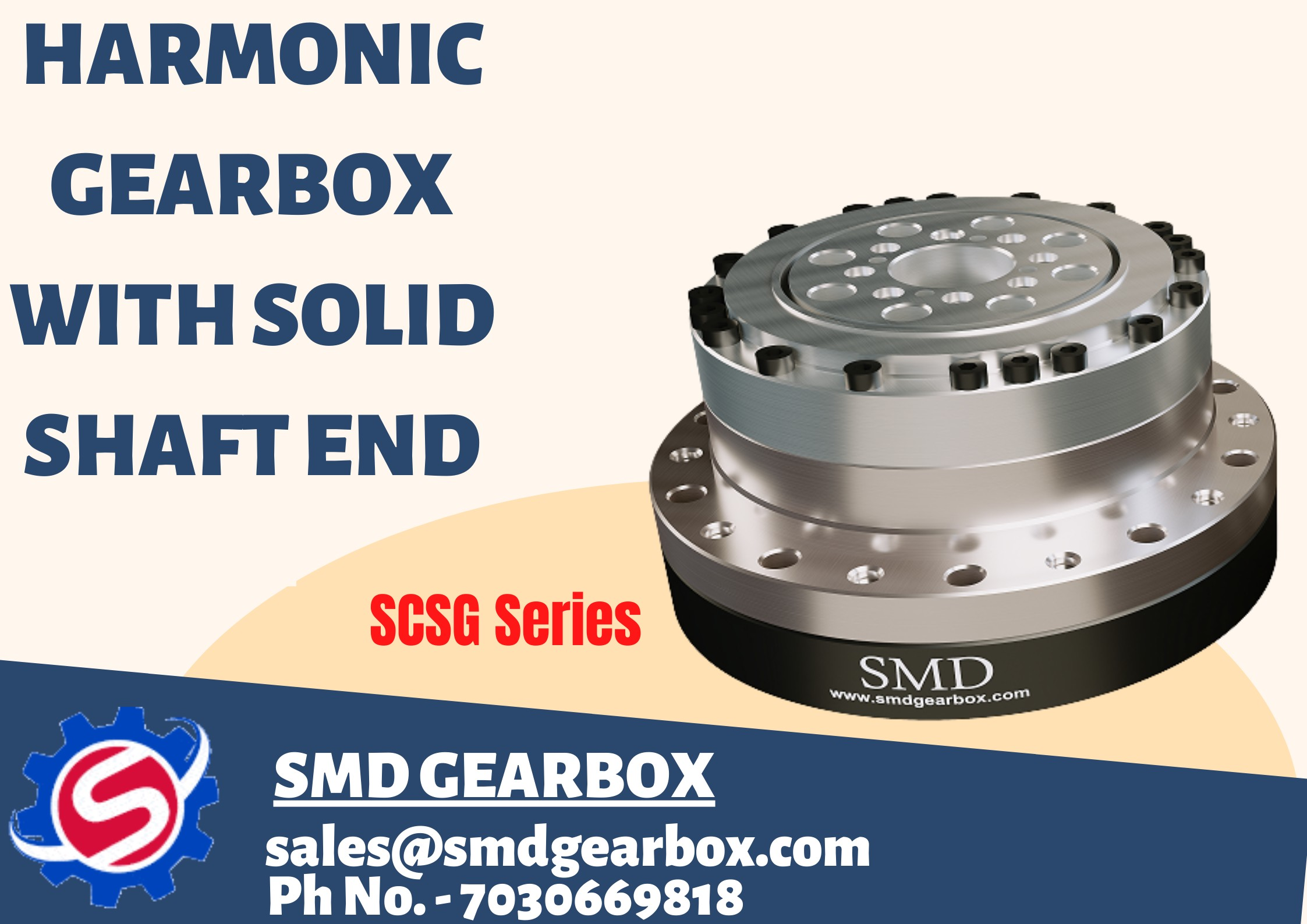 Harmonic Drive Gearbox | SMD Gearbox