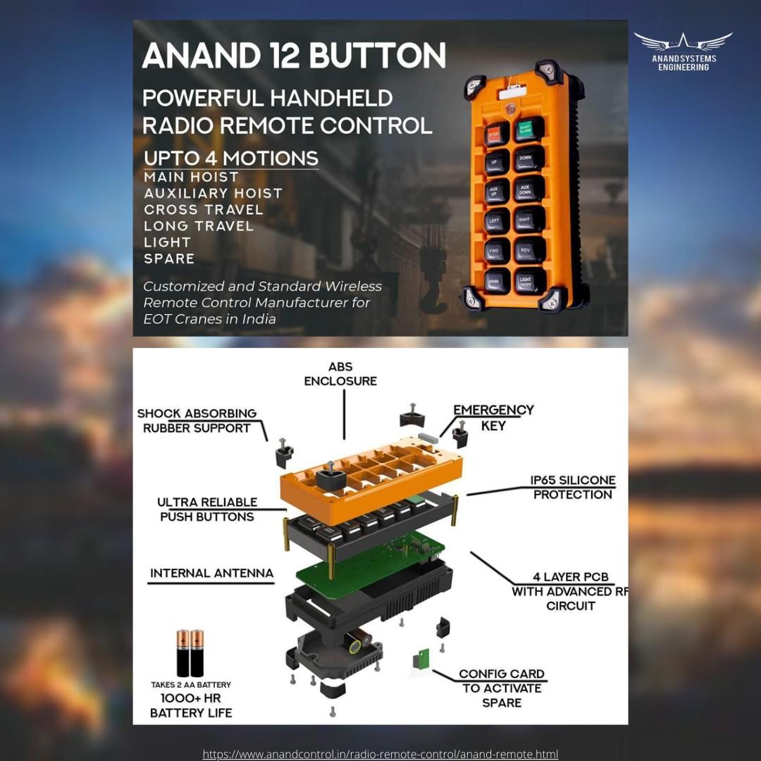 Anand crane wireless remote control